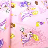 Šípková Ruženka detská bavlnená látka