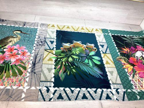 Panely na utierky Exotica sada 3x 50x70cm