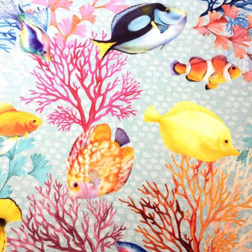 Podmorský svet dekoračná látka