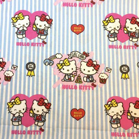 Hello Kitty Disney detská bavlnená látka