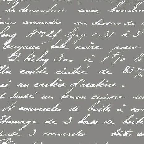 Písmo na tmavo šedej bavlnená látka