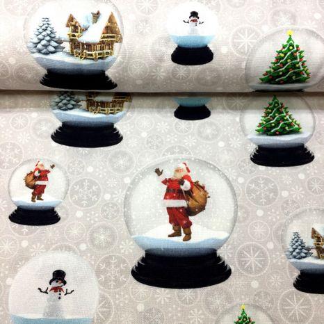 Vianočné snežítka dekoračná látka