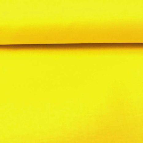 Žltá jednofarebná česká bavlna