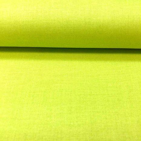 Zelená jednofarebná česká bavlna