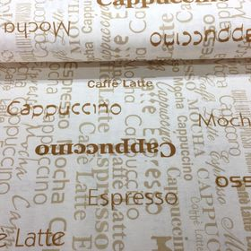 Cappuccino Latte dekoračná látka